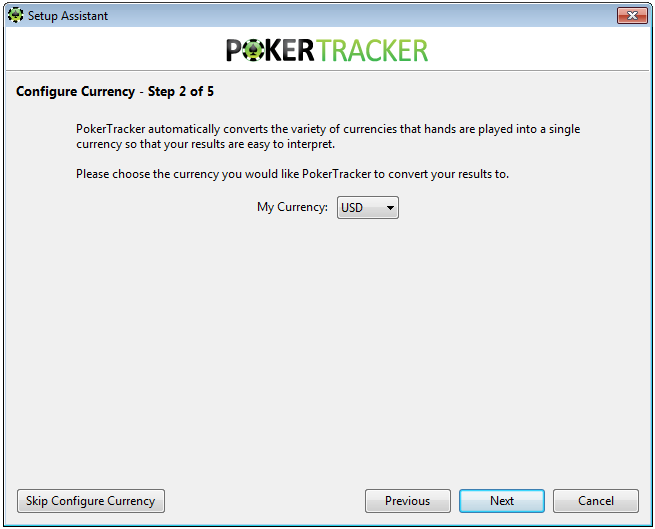 Poker Tracker 4 Currency